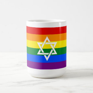 Jewish Pride Mug with Fancy Star of David