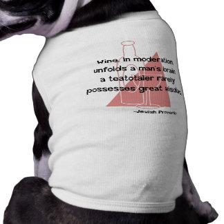 Jewish Proverb Pet Tee