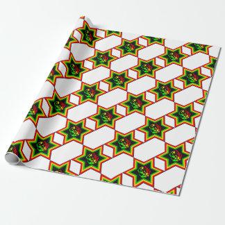 Jewish Rasta Wrapping Paper