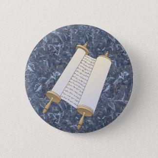 Jewish Scroll 2 Inch Round Button