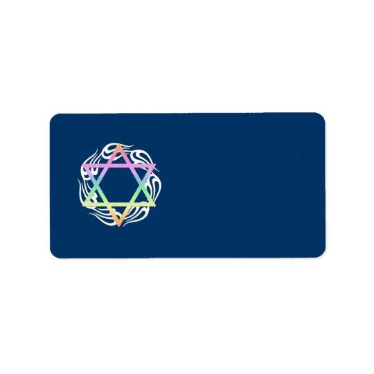 Jewish Star Colours