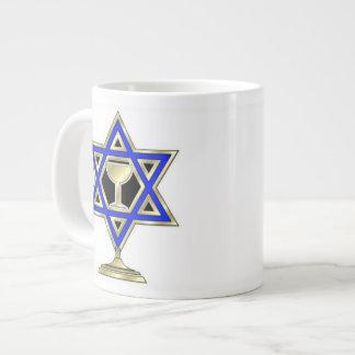 Jewish Star Large Coffee Mug