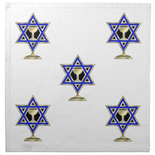 Jewish Star Napkin