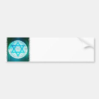 Jewish Star of David Bumper Stickers