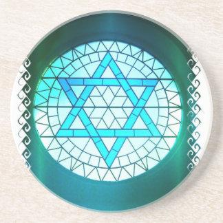 Jewish Star of David Coaster