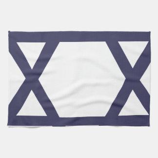 Jewish Star of David Kitchen Towel