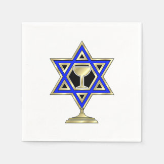 Jewish Star Of David Paper Napkins
