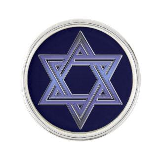 Jewish Star of David Symbol Lapel Pin