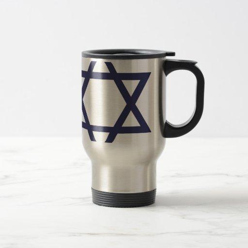 Jewish Star of David Symbol Mug