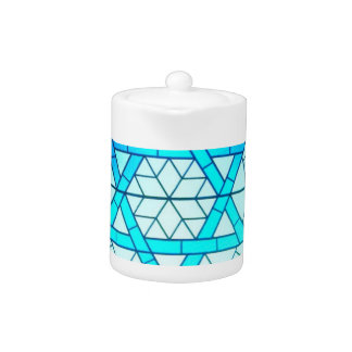 Jewish Star of David Teapot