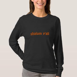Jewish t shirt shalom y'all