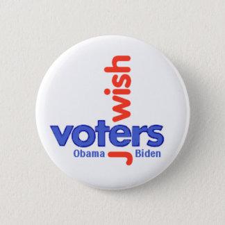 JEWISH VOTERS Button