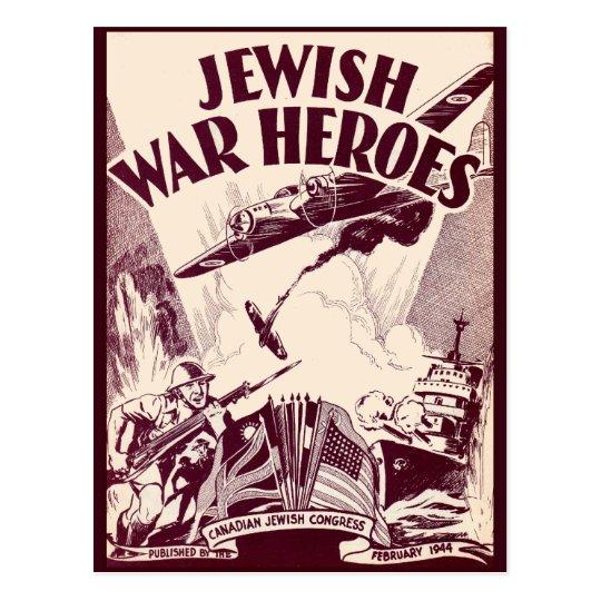 Jewish War Heroes Postcard
