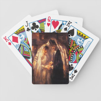 Jewish Wedding Painting by Israëls Bicycle Playing Cards