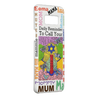 Jewish Yiddish Hamsa Star Of David Call Mother Case-Mate Samsung Galaxy S8 Case