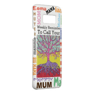 Jewish Yiddish Tree of Life Call Mom Weekly Case-Mate Samsung Galaxy S8 Case