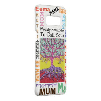 Jewish Yiddish Tree of Life Call Mother Weekly Case-Mate Samsung Galaxy S8 Case