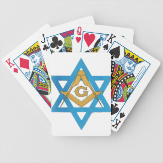 jewishmason bicycle playing cards