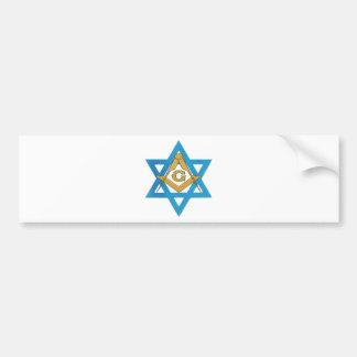 jewishmason bumper sticker