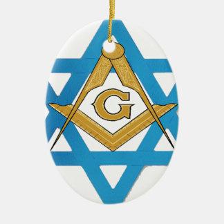 jewishmason ceramic ornament