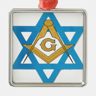 jewishmason metal ornament