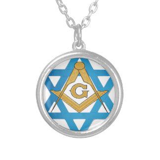 jewishmason silver plated necklace