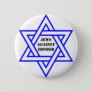 Jews against zionism 2 inch round button