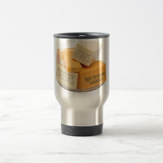 Jews for Cheeses Travel Mug