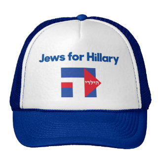 JEWS Hillary Clinton hebrew 2016 president hat