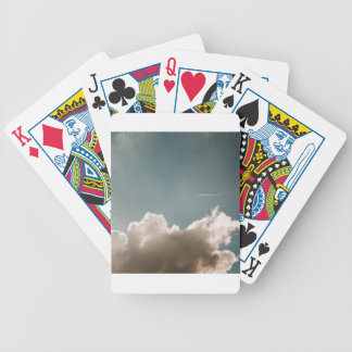 Jey Sky Blue Bicycle Playing Cards