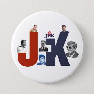 JFK 100 Years 3 Inch Round Button
