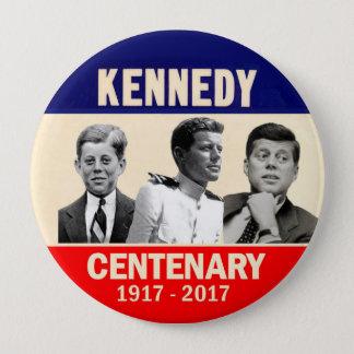 JFK 100th Birthday 4 Inch Round Button