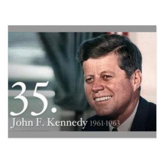 JFK 35 POSTCARD