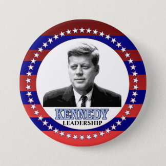 JFK 3 INCH ROUND BUTTON