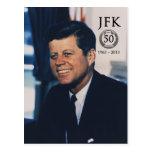 JFK 5oth Anniversary Postcard