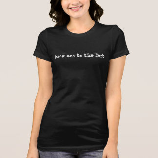 JFK Back and to the Left Women's Black T-Shirt