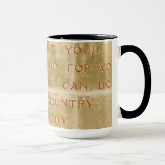 JFK Black Combo 15oz Coffee Mug By Zazz_it