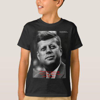 """JFK """"Forgive Not Forget"""" Wisdom Quote Gifts & Card T-Shirt"""