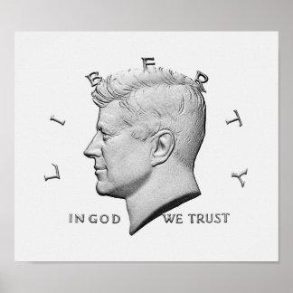 JFK - In God We Trust Poster