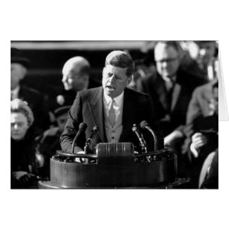 JFK Inauguaration Greeting Card