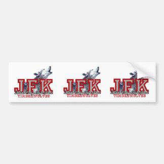 JFK LOGO Bumper Sticker