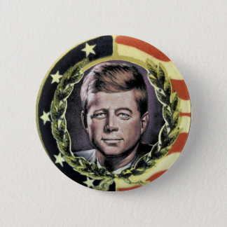 JFK Nostalgia Button