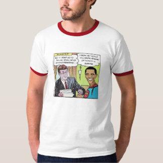 JFK & Obama-Man ringer shirt