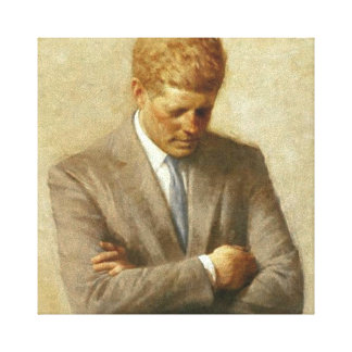 JFK Painting On Canvas