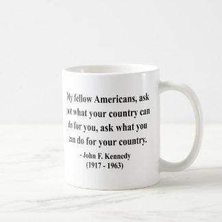 JFK Quote 3a Coffee Mug