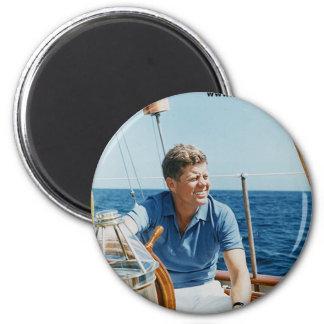 JFK Sailing Magnet