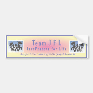 jfl cover bumper sticker