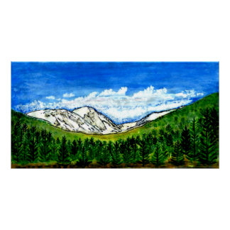 jGibney Breckenridge CO 1999art300dpi 78x40 Poster