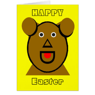 jGibney Easter You think dogs in heaven Greeting Card