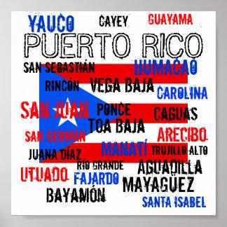 jhg, PUERTO RICO, San Juan, Bayamón, Toa Baja, ... Poster
